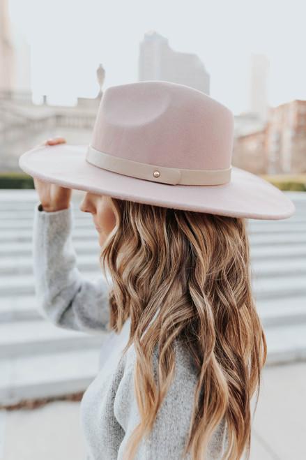 Wandering Heart Belted Khaki Hat