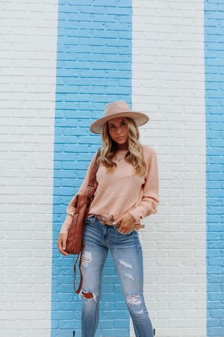 Instant Crush Blush Pom Sweater