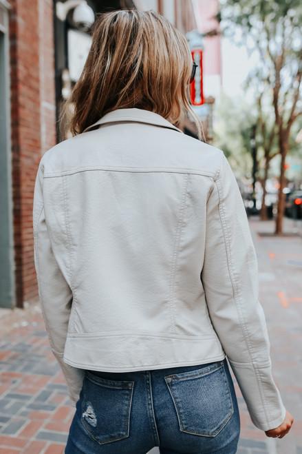 BB Dakota London Calling Bone Jacket