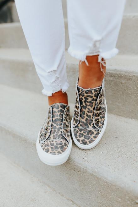 Gypsy Jazz Playful Leopard Sneaker