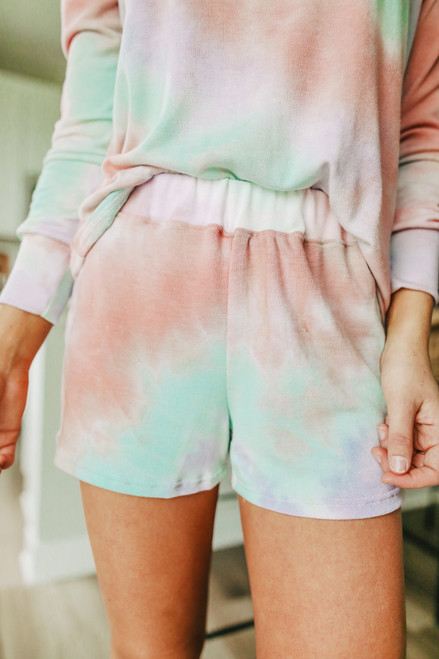Sweet Dreams Tie Dye Lounge Shorts