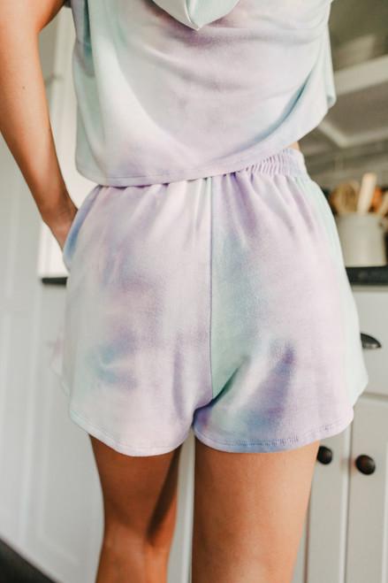 Aloha Tie Dye Shorts