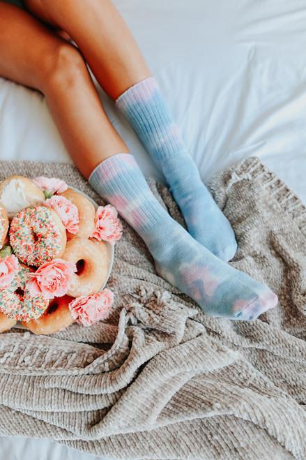 Daydreamer Cloud Tie Dye Socks