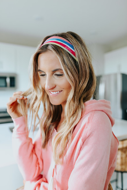 Ocean Avenue Rainbow Stripe Headband