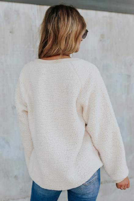 Cozy Committee Cream Wubby Pullover