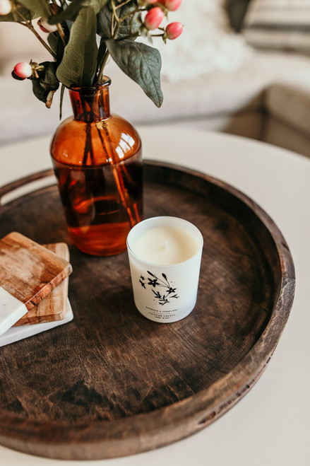 Free People Gardenia + Cedarwood Candle