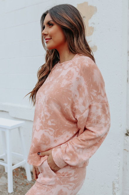 Dreaming In Tie Dye Terry Pullover