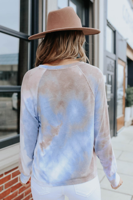 Dreamy Raglan Tie Dye Pullover
