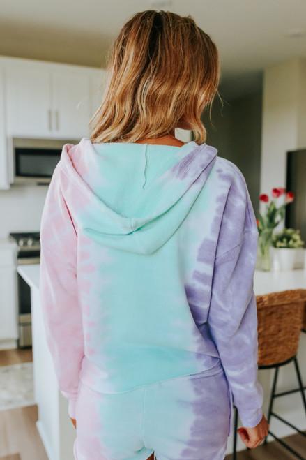 Ocean Drive Tie Dye Fleece Hoodie