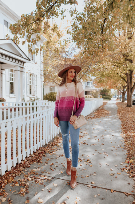 With Love Ombre Sweater