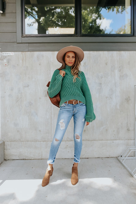 Free People Sweetheart Botany Sweater