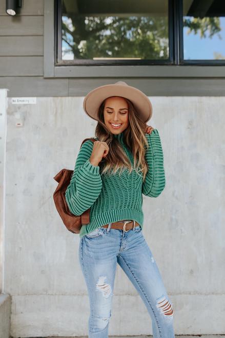 Free People Sweetheart Botany Sweater