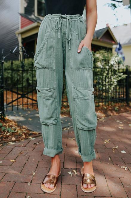 Free People Feelin Good Eden Utility Pants