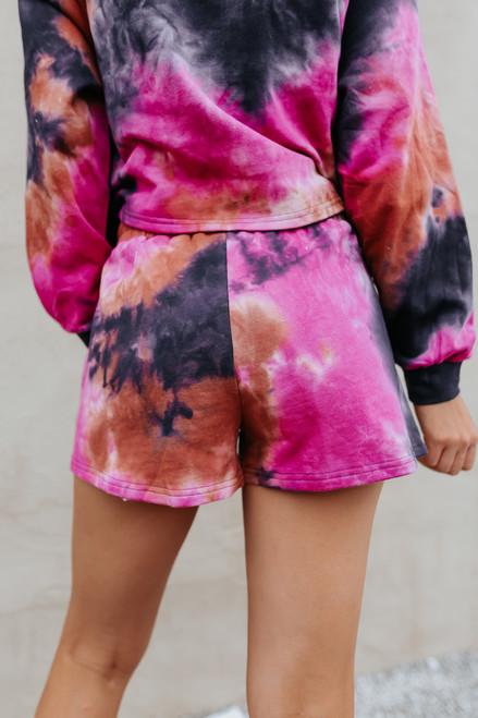 Cali Craze Tie Dye Lounge Shorts