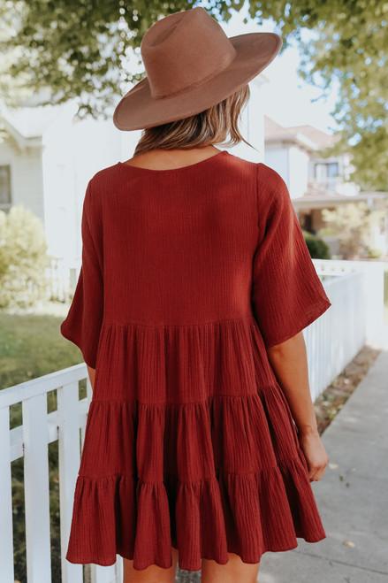 Sweet Sienna Tiered Babydoll Dress