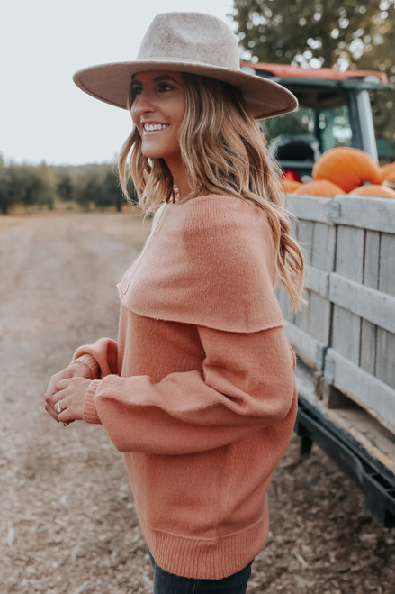 Off the Shoulder Raglan Sweater