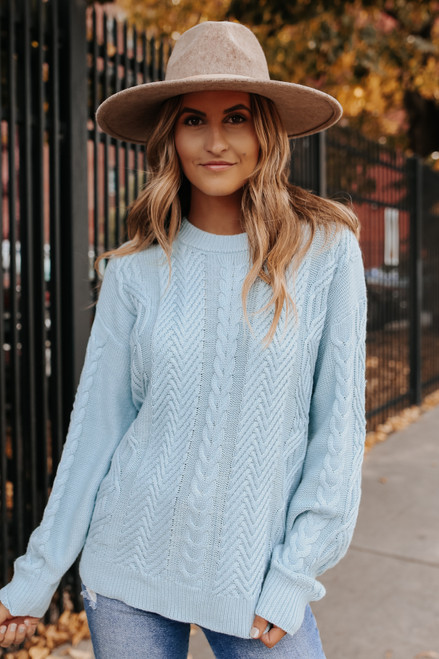 True North Cable Knit Sweater