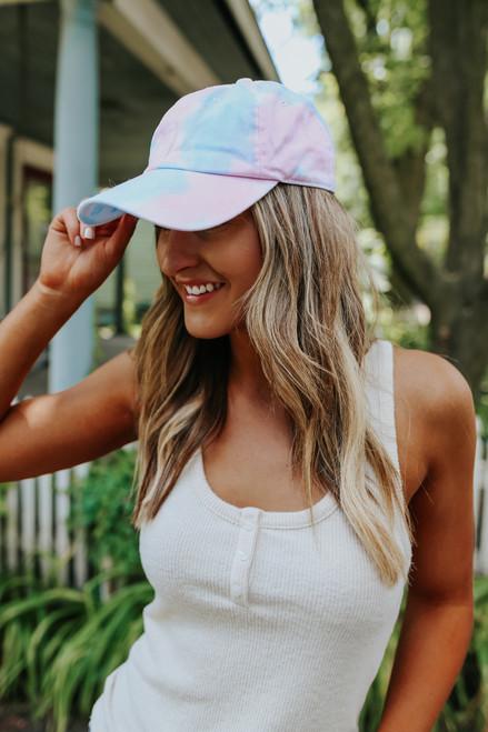 Sugar High Tie Dye Baseball Hat