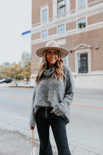 Lenox Hill Turtleneck Boucle Sweater