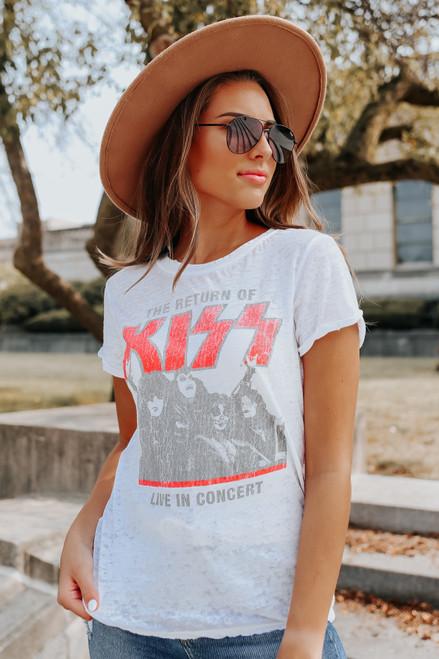 Recycled Karma Return of KISS Tee
