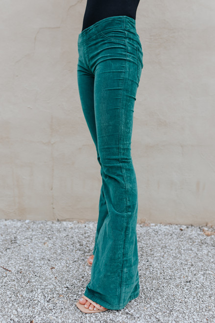 Free People Pull On Pine Cord Flares