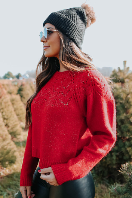 BB Dakota Turn Knit Up Sweater