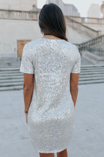 BB Dakota Hit the Lights Sequin Dress