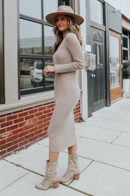 BB Dakota Sweater of Intent Dress