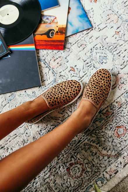 Power Hour Slip On Cheetah Sneakers