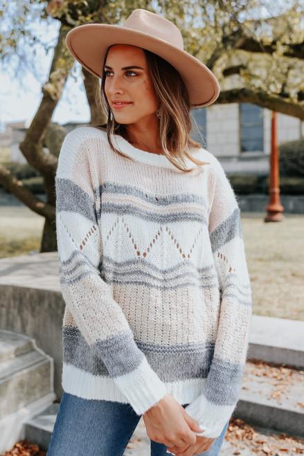 Aspen Lodge Colorblock Sweater
