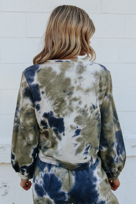 Renegade Tie Dye Terry Pullover