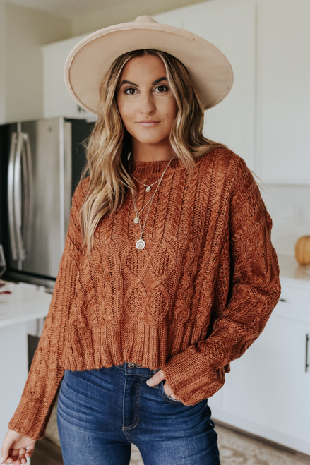 Tennessee Cabin Cable Sweater