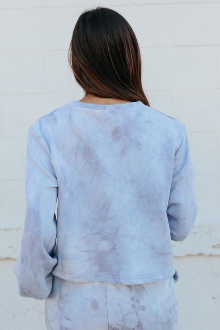 Nebula Tie Dye Terry Pullover