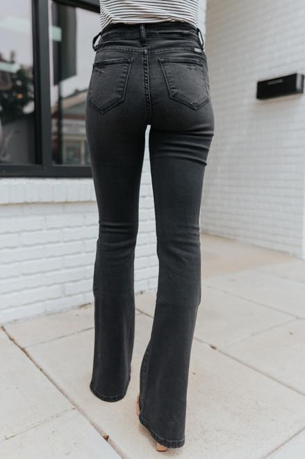 Eastern Wind Black Bootcut Jeans