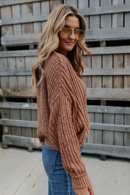 Free People On Your Side Sweater
