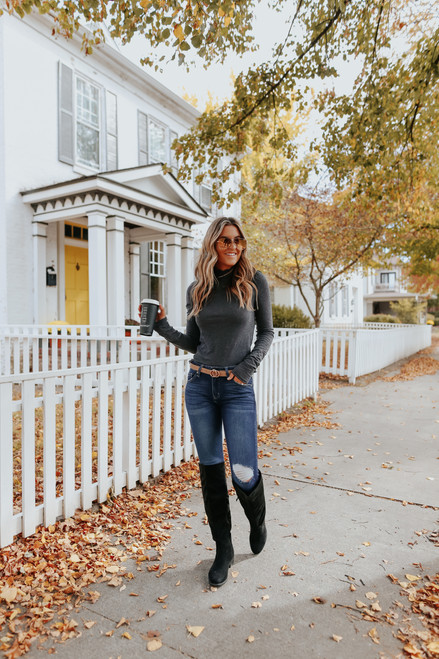 Free People Caroline Long Sleeve Top