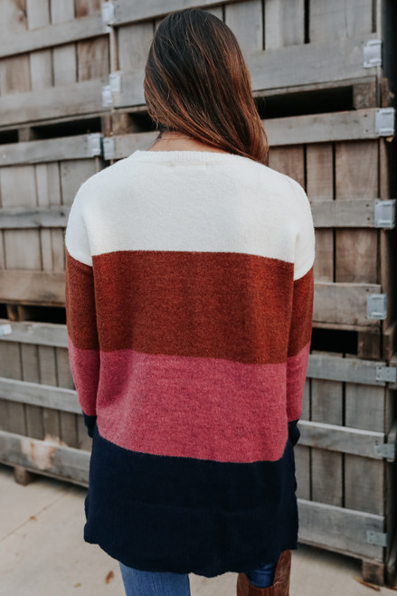 Love Struck Colorblock Sweater