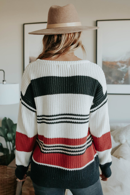 Sugar & Spice Colorblock Sweater