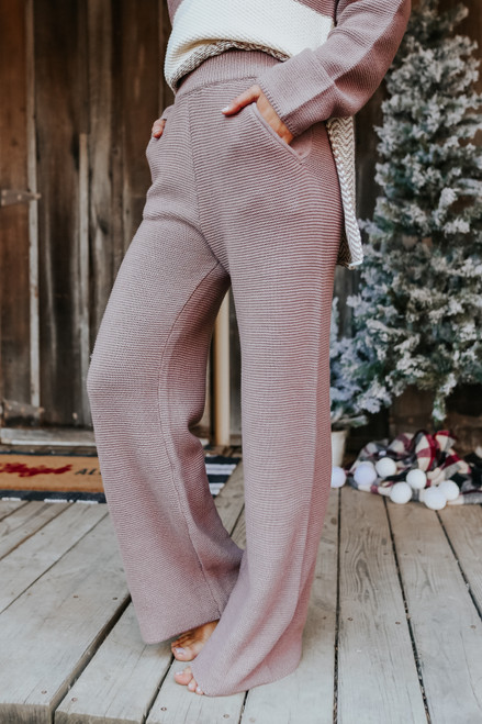 Hot Cocoa Wide Leg Pants
