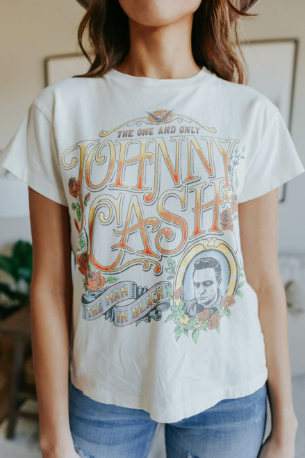Daydreamer Johnny Cash The One and Only Tour Tee