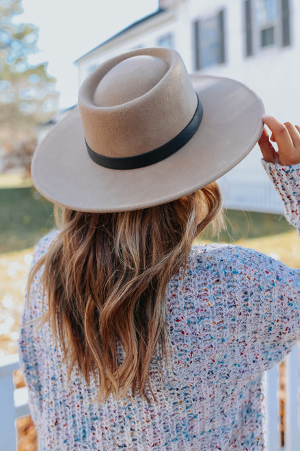 Southern Breeze Khaki Belted Hat