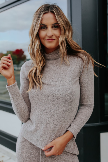 Long Weekend Turtleneck Pullover