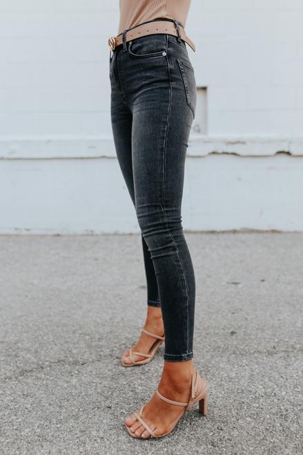 Free People Montana Milky Way Skinny Jeans