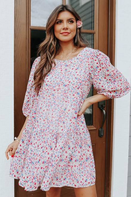 BB Dakota Free Spirt Floral Dress