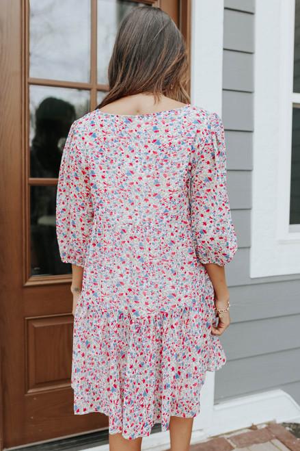BB Dakota Free Spirit Floral Dress