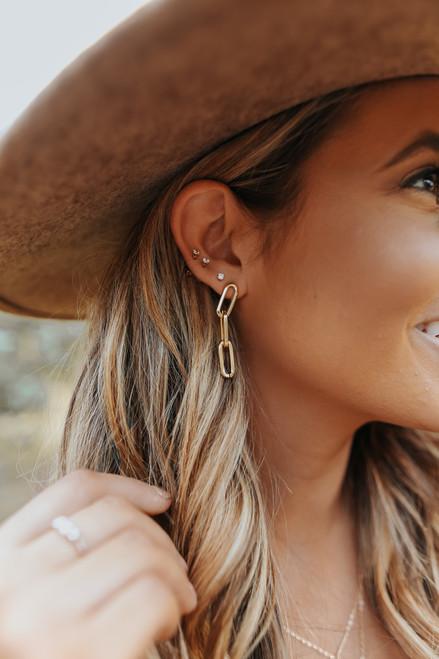 Next Level Linked Earrings