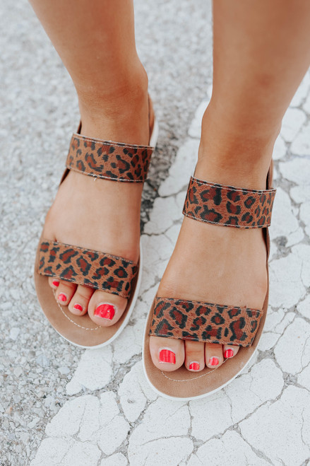 Very G Ella Leopard Sandals