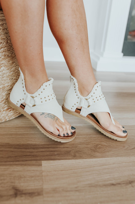 Very G Journey Studded Sandals