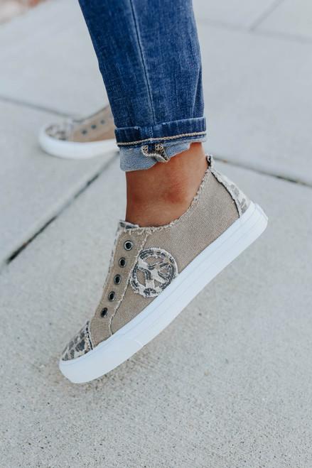 Gypsy Jazz Absolute Leopard Contrast Sneakers