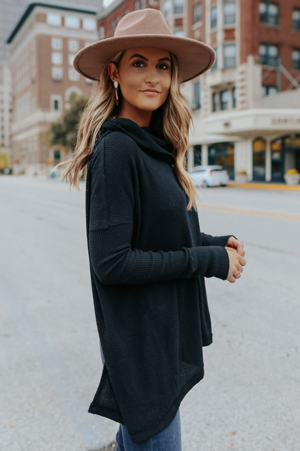 Free People Juicy Black Pullover